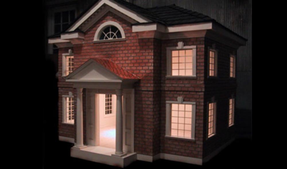 celebrity brick estate dog house